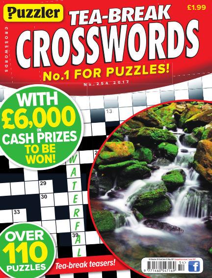 Puzzler Tea-Break Crosswords May 03, 2017 00:00