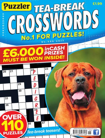 Puzzler Tea-Break Crosswords May 31, 2017 00:00