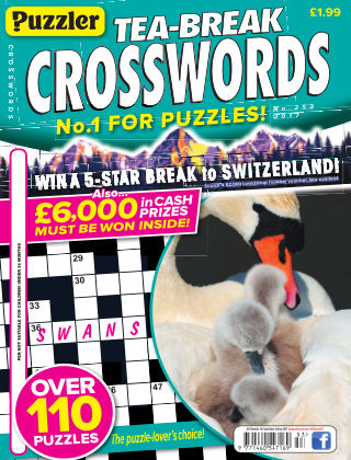 Puzzler Tea-Break Crosswords No.253