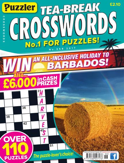Puzzler Tea-Break Crosswords August 23, 2017 00:00