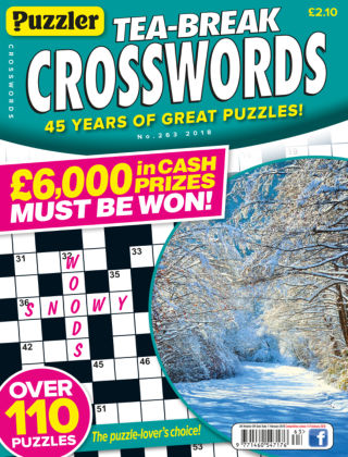 Puzzler Tea-Break Crosswords No.263
