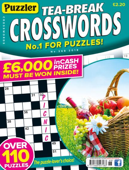 Puzzler Tea-Break Crosswords May 30, 2018 00:00