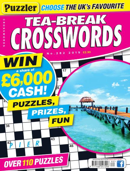 Puzzler Tea-Break Crosswords June 26, 2019 00:00