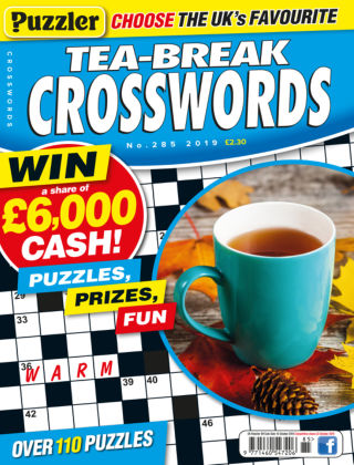 Puzzler Tea-Break Crosswords No.285