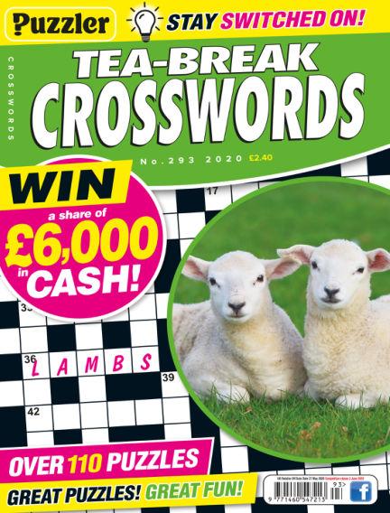 Puzzler Tea-Break Crosswords April 29, 2020 00:00