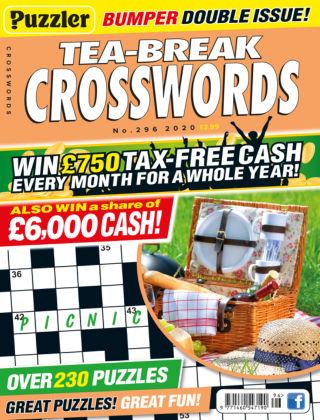 Puzzler Tea-Break Crosswords No.296