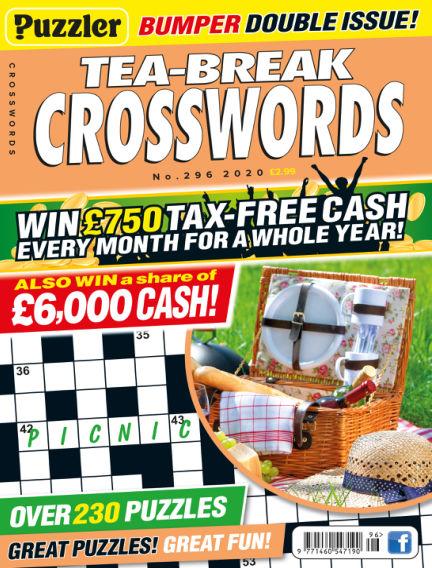Puzzler Tea-Break Crosswords July 22, 2020 00:00