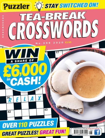 Puzzler Tea-Break Crosswords September 16, 2020 00:00