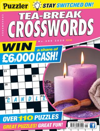 Puzzler Tea-Break Crosswords No.299