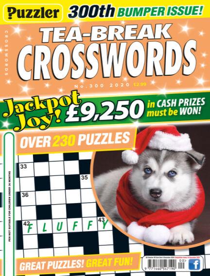Puzzler Tea-Break Crosswords