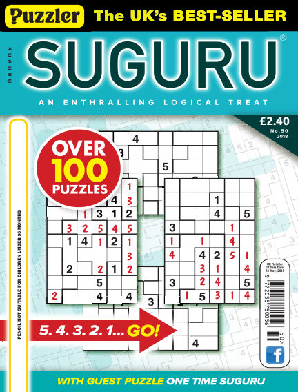 Puzzler Suguru May 02, 2018 00:00