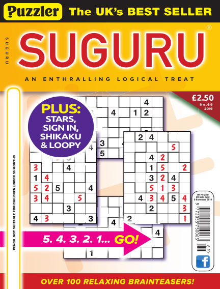 Puzzler Suguru October 09, 2019 00:00