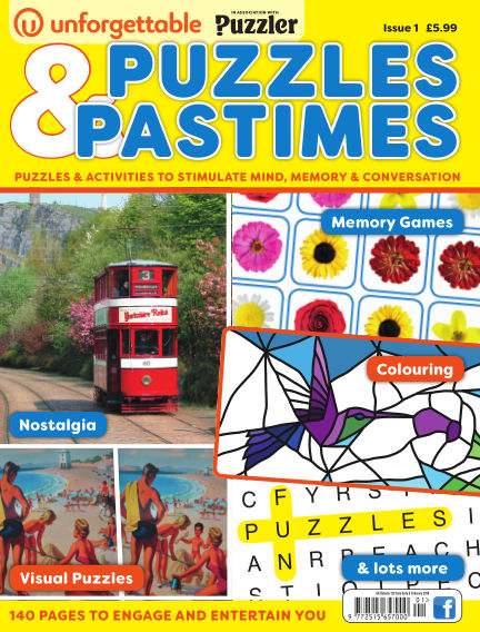 Puzzles & Pastimes February 12, 2018 00:00