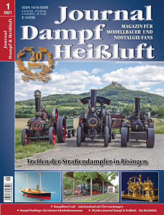 Journal Dampf & Heißluft 1/2021
