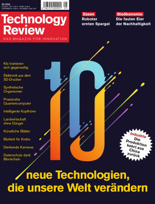 Technology Review 05-2018