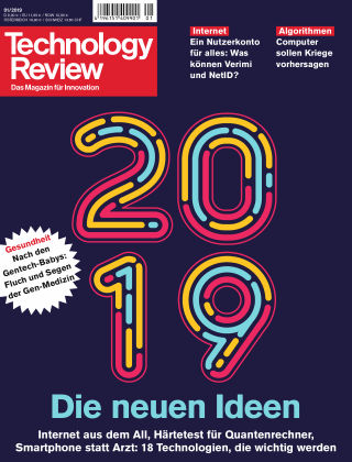 Technology Review 01-2019