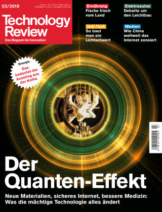 Technology Review 03-2019