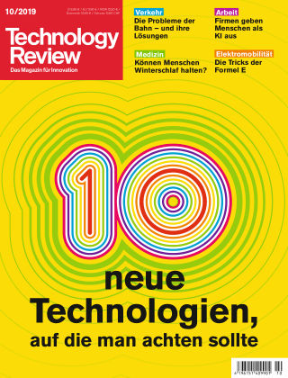 Technology Review 10-2019