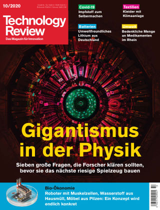 Technology Review 10-2020