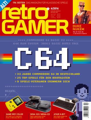 Retro Gamer - DE 04-2016