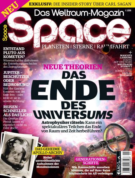 Space – Das Weltraummagazin November 22, 2018 00:00