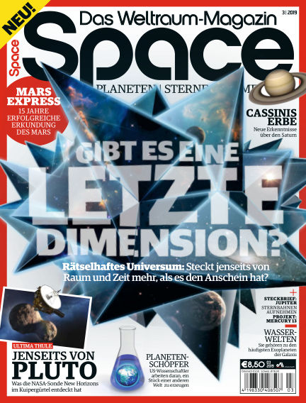 Space – Das Weltraummagazin March 21, 2019 00:00
