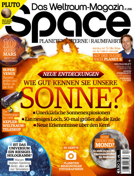 Space – Das Weltraummagazin May 19, 2016 00:00
