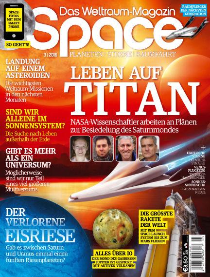 Space – Das Weltraummagazin March 24, 2016 00:00