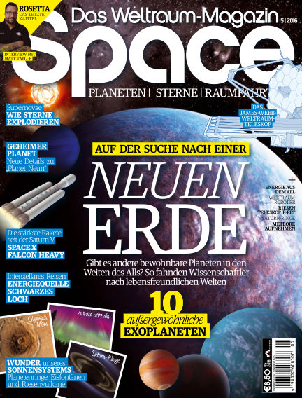Space – Das Weltraummagazin July 21, 2016 00:00