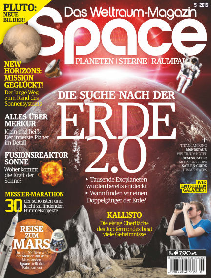 Space – Das Weltraummagazin July 30, 2015 00:00