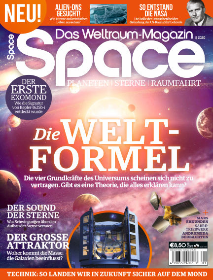 Space – Das Weltraummagazin November 21, 2019 00:00