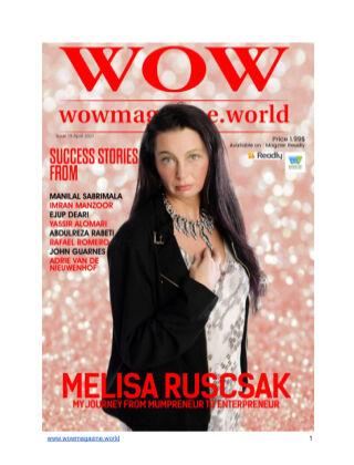Wow Magazine April 2021