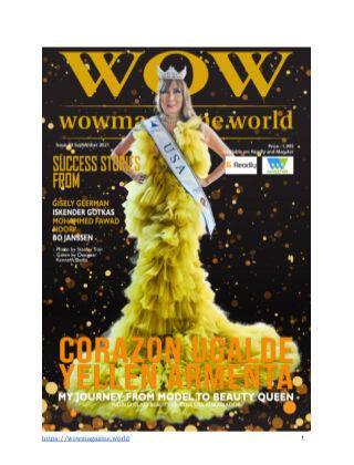 Wow Magazine September 2021