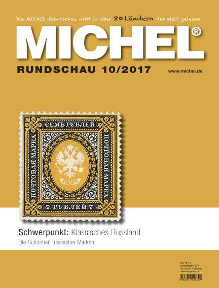 MICHEL-Rundschau October 01, 2017 00:00
