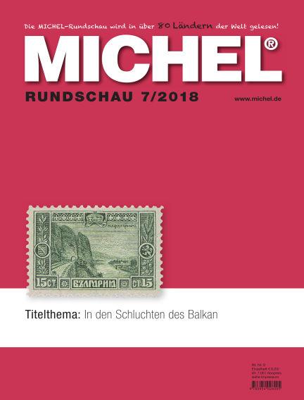 MICHEL-Rundschau July 01, 2018 00:00