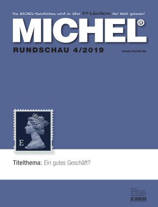 MICHEL-Rundschau 4/2019