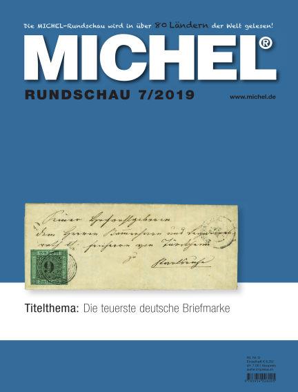 MICHEL-Rundschau July 01, 2019 00:00