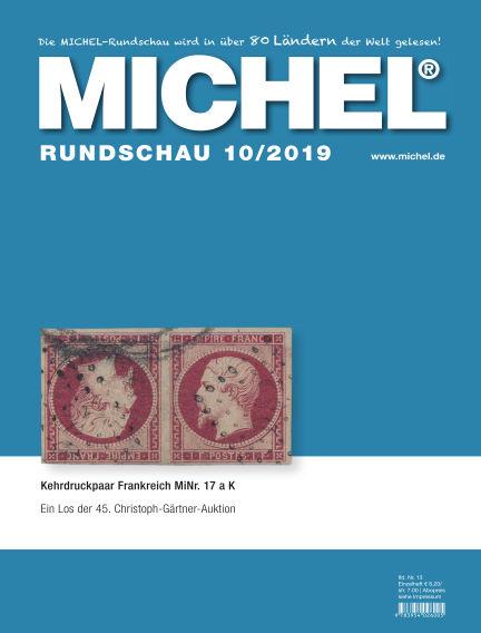 MICHEL-Rundschau October 01, 2019 00:00