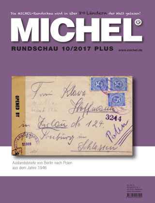 MICHEL-Rundschau PLUS 10/2017 PLUS