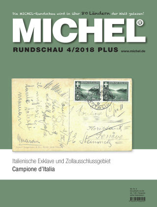 MICHEL-Rundschau PLUS 4/2018 PLUS