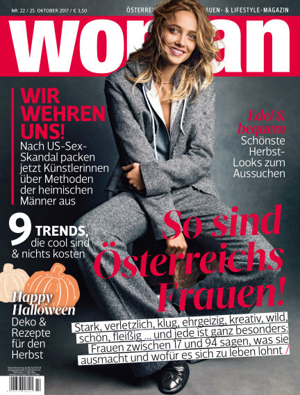 WOMAN October 25, 2017 00:00