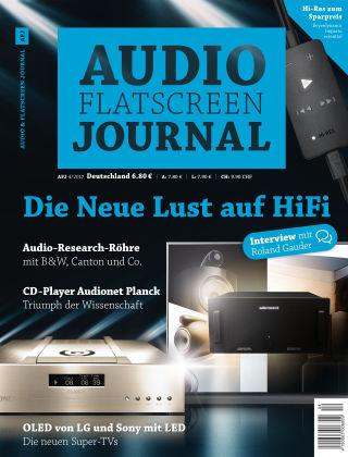 Audio & Flatscreen Journal 4/2017