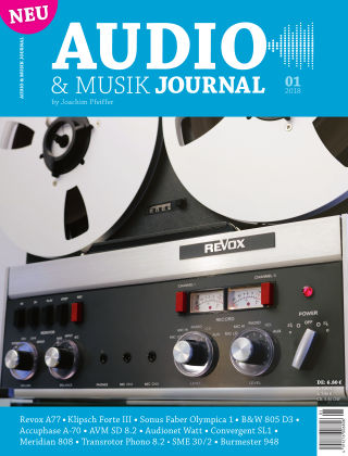 Audio & Musik Journal 01/2018