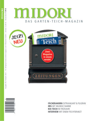 MIDORI - Das Garten-Teich-Magazin 1/2021