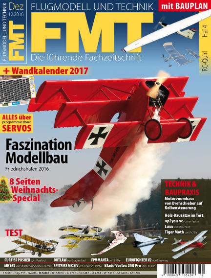 FMT - FLUGMODELL UND TECHNIK November 24, 2016 00:00