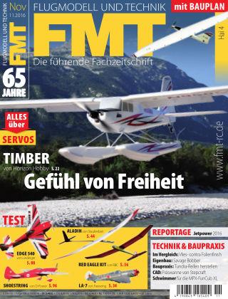 FMT - FLUGMODELL UND TECHNIK 11/2016