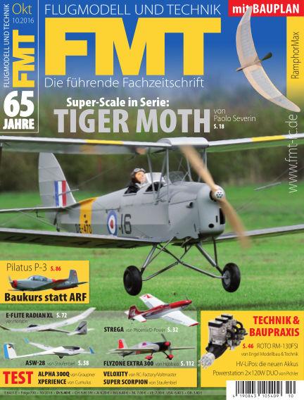 FMT - FLUGMODELL UND TECHNIK September 29, 2016 00:00