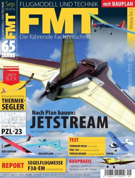 FMT - FLUGMODELL UND TECHNIK August 25, 2016 00:00