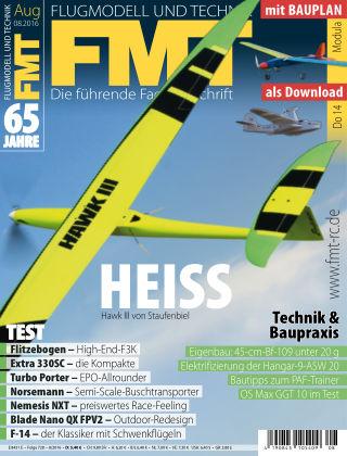 FMT - FLUGMODELL UND TECHNIK 08/2016