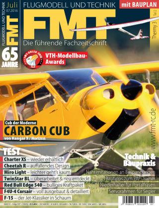 FMT - FLUGMODELL UND TECHNIK 07/2016